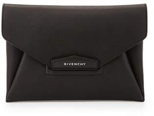 Givenchy Antigona Leather Evening Envelope Clutch Bag