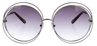 Chloé Carlina Oversize Sunglasses