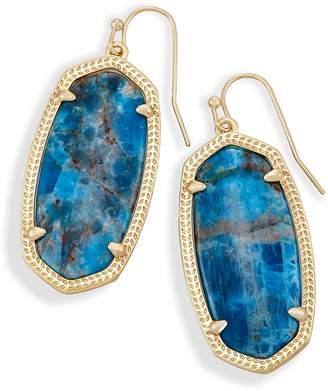 Kendra Scott Elle Drop Earrings in Aqua Apatite