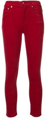 Rag & Bone velvet skinny trousers