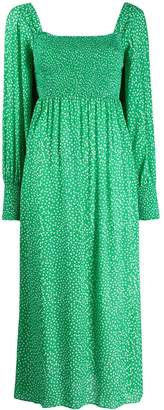 Rixo bell sleeve dress