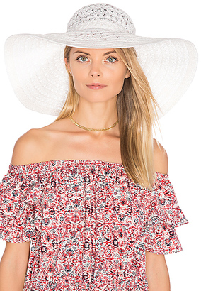 ale by alessandra Chantilly Hat in White. $85 thestylecure.com