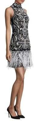 Parker Black Marley Embellished Dress