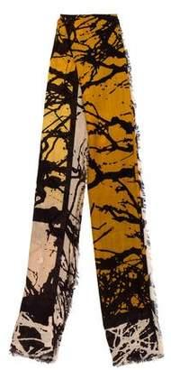 Diane von Furstenberg Woven Printed Scarf