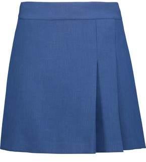 Alice + Olivia Alice+olivia Pleated Cady Mini Skirt