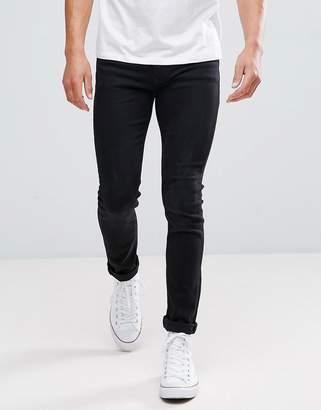 Kiomi Slim Fit Jeans In Black