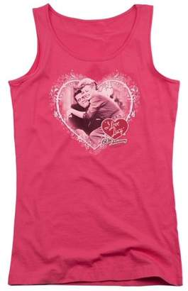 I LOVE LUCY I Love Lucy Happy Anniversary Juniors Tank Top Shirt