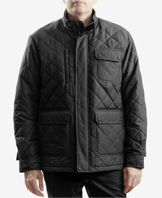 Hawke & Co Men Cavell Diamond Quilted Filed Coat