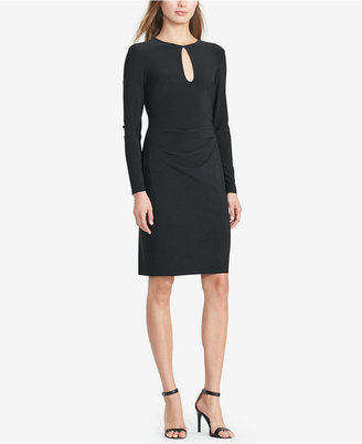 Lauren Ralph Lauren Keyhole Jersey Dress $139 thestylecure.com