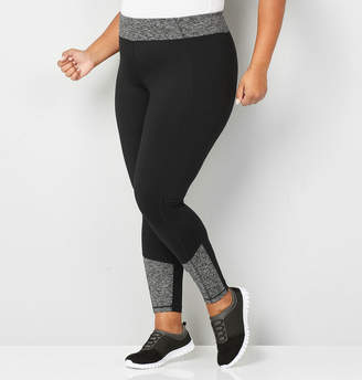 Avenue Spacedye Trim Active Legging