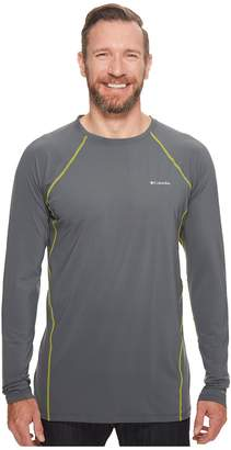 Columbia Big Tall Midweight Stretch Long Sleeve Top Men's Clothing