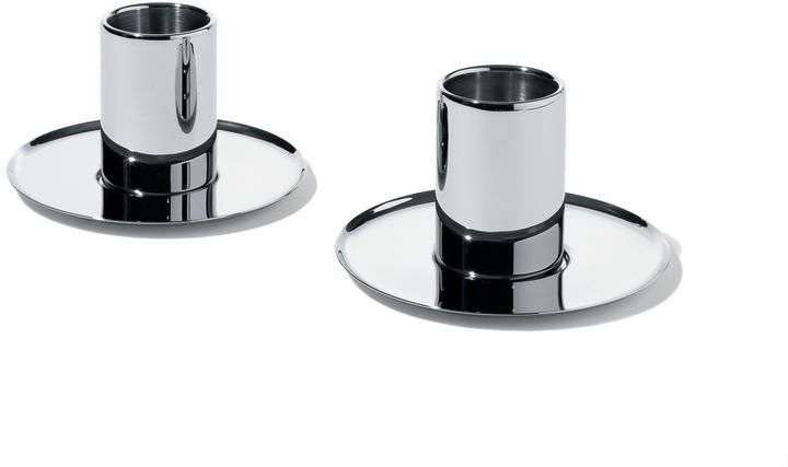 Alessi CFF CP, Set of two mocha cups with saucers