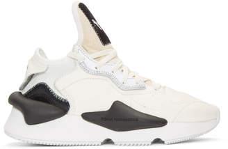Y-3 White Kaiwa Sneakers