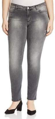 Marina Rinaldi Igloo Distressed Slim Jeans