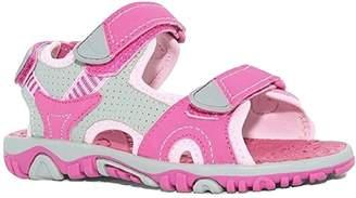 Khombu Girls River Sandals, Pink, 12
