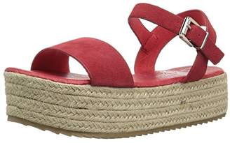 Coolway Women's Mini Espadrille Wedge Sandal