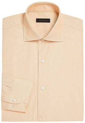 Saks Fifth Avenue Collection Men's COLLECTION Mini Check Dress Shirt