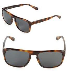 Zac Posen Cain 56MM Square Sunglasses