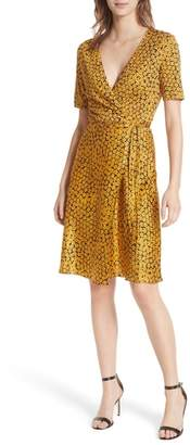 Diane von Furstenberg Marigold Silk Wrap Dress