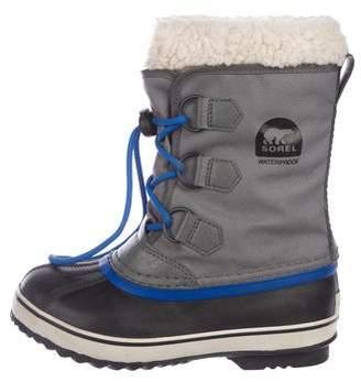 Sorel Boys' Canvas Snow Boots