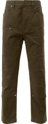 Lanvin panelled denim trousers