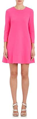 Lisa Perry Women's Circle Wool A-Line Dress