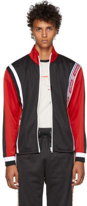 Givenchy Red New Hem Track Jacket