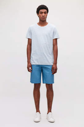 Cos ROUND-NECK STRIPED T-SHIRT