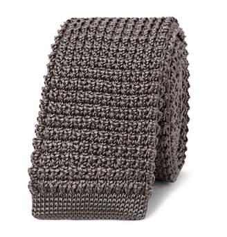 Lanvin 5cm Knitted Silk Tie