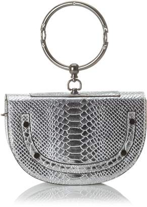 Argento Chicca Borse Women's CBS178484-402 Shoulder Bag Silver Silver