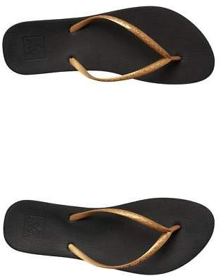 Reef New Women's Womens Escape Lux Thong Rubber Black