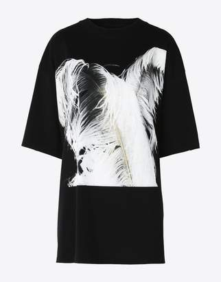 Maison Margiela (メゾン マルジェラ) - MAISON MARGIELA プリューム プリント tシャツ