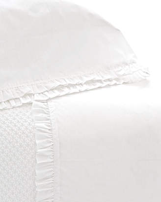 Pine Cone Hill King 200 Thread-Count Classic Ruffle Sheet Set