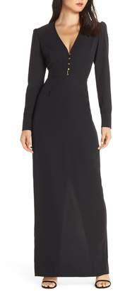WAYF The Deborah Long Sleeve Gown
