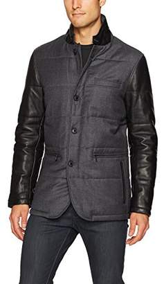 Bugatchi Men's Fully Quilted Blazer Type Jacket