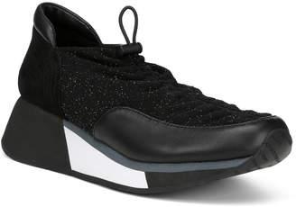 Donald J Pliner Prinze Sparkle Suede Sneaker