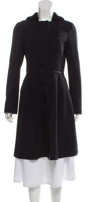 Narciso Rodriguez Wool Knee-Length Coat