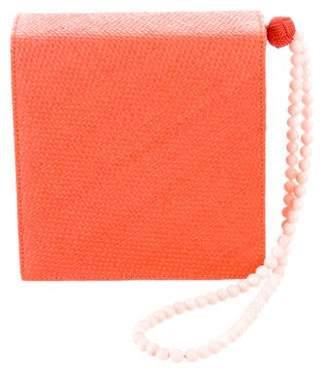 Harry Winston Embellished Strap Wristlet