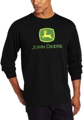 John Deere Men's Trademark Logo Core Long Sleeve Tee