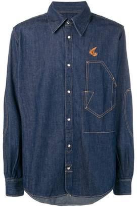 Vivienne Westwood loose fitted denim shirt