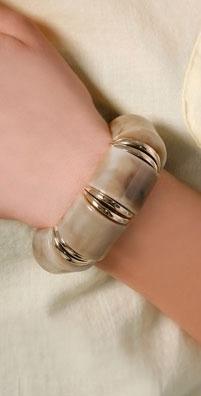Lee Angel Jewelry Olivia Stretch Bracelet