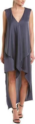 BCBGMAXAZRIA Asymmetric Maxi Dress