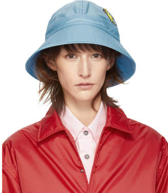 Marni Dance Bunny Blue Bunny Patch Bucket Hat