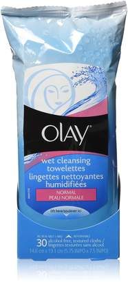Olay Cleansing Cloth 30 Count (Pack of 2)