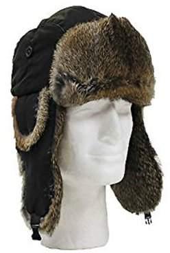 5cf68589db2 Generic Winter Faux Fur Trapper Hat For Men   Women -Black