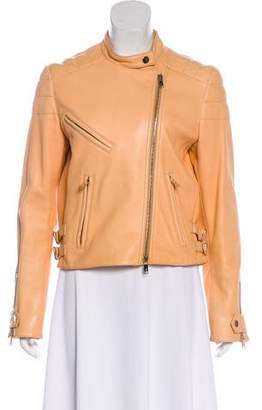 Chloé Asymmetrical Leather Jacket