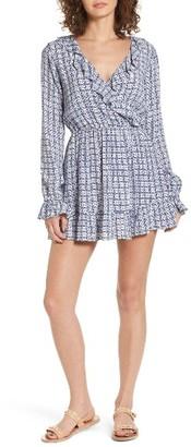 Women's Tularosa Charleston Ruffle Surplice Dress $178 thestylecure.com