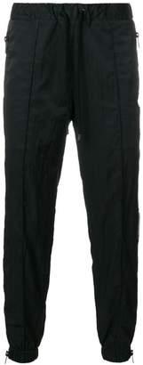 Marcelo Burlon County of Milan side zipped track pants
