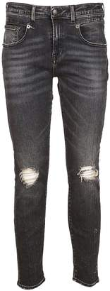 R 13 Ripped Jeans