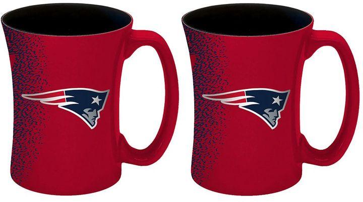 Boelter New England Patriots Mocha Coffee Mug Set
